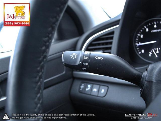 2018 Hyundai Elantra Limited (Stk: J19000) in Brandon - Image 16 of 27