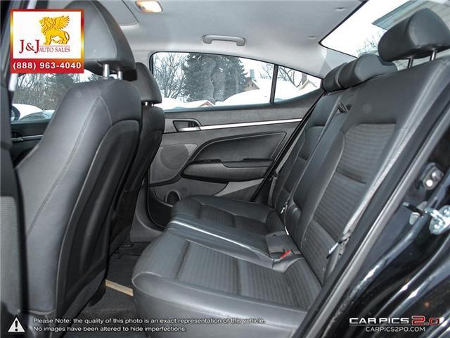 2018 Hyundai Elantra Limited (Stk: J19000) in Brandon - Image 24 of 27