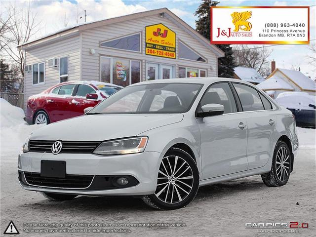 2013 Volkswagen Jetta 2.0 TDI Highline (Stk: J18117) in Brandon - Image 1 of 27