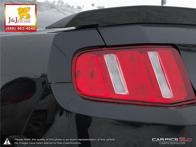 2011 Ford Mustang V6 (Stk: J18114-2) in Brandon - Image 12 of 27