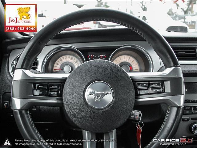 2011 Ford Mustang V6 (Stk: J18114-2) in Brandon - Image 14 of 27