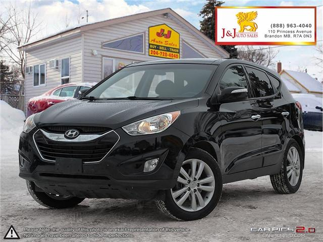 2013 Hyundai Tucson Limited (Stk: J19001) in Brandon - Image 1 of 27