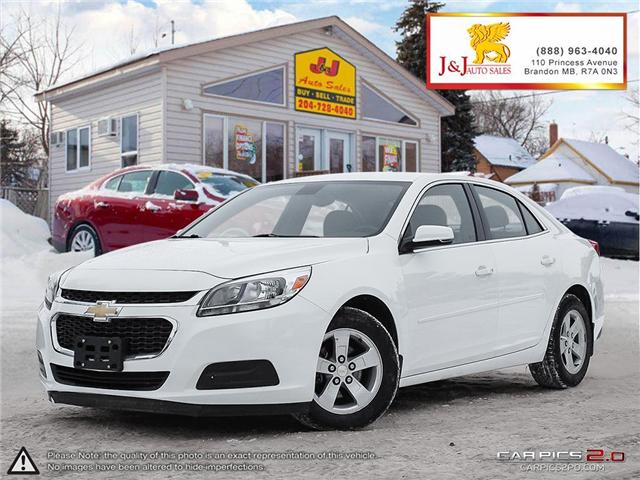 2016 Chevrolet Malibu Limited LS (Stk: J18128) in Brandon - Image 1 of 27