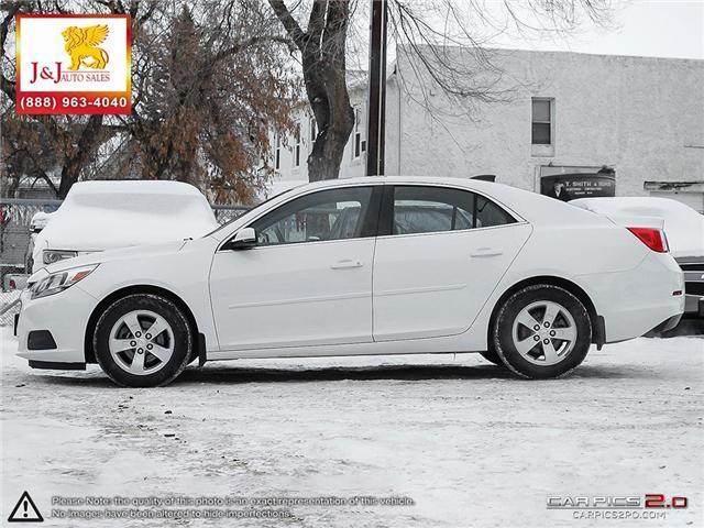 2016 Chevrolet Malibu Limited LS (Stk: J18128) in Brandon - Image 3 of 27