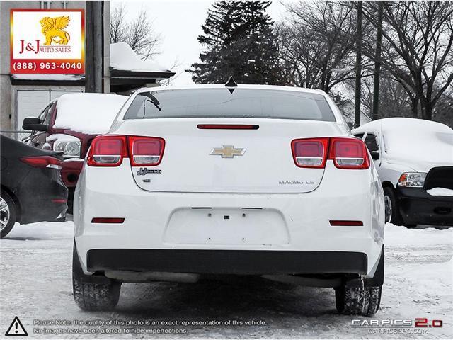 2016 Chevrolet Malibu Limited LS (Stk: J18128) in Brandon - Image 5 of 27