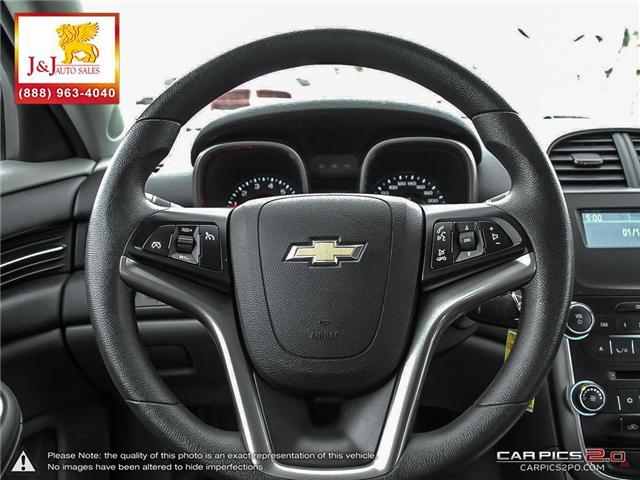 2016 Chevrolet Malibu Limited LS (Stk: J18128) in Brandon - Image 14 of 27