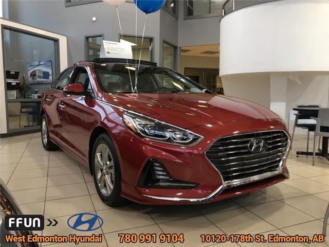 2018 Hyundai Sonata Limited (Stk: SN86543) in Edmonton - Image 2 of 5