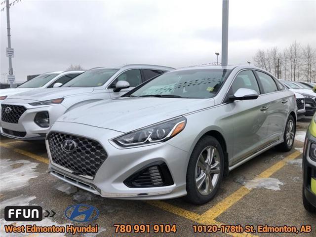 2018 Hyundai Sonata Sport (Stk: SN85613) in Edmonton - Image 1 of 5