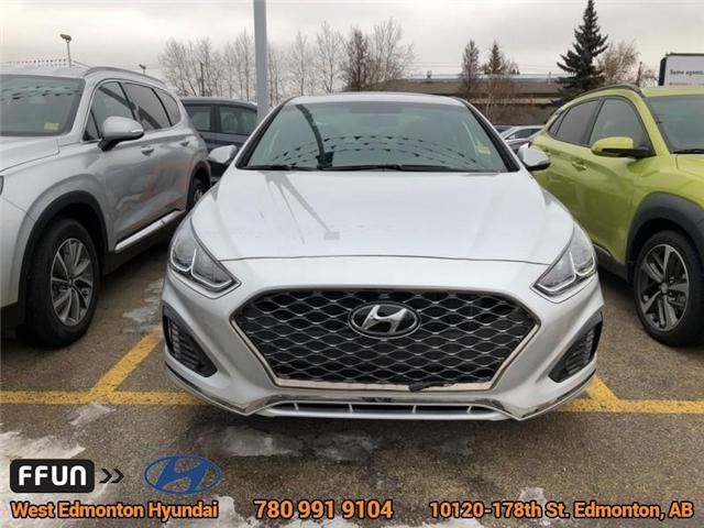 2018 Hyundai Sonata Sport (Stk: SN85613) in Edmonton - Image 2 of 5