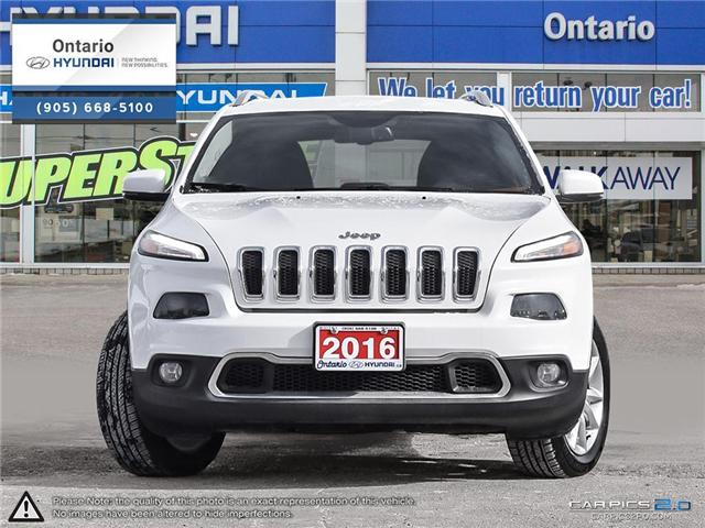 2016 Jeep Cherokee Limited / Reduced Price (Stk: 30089K) in Whitby - Image 2 of 27