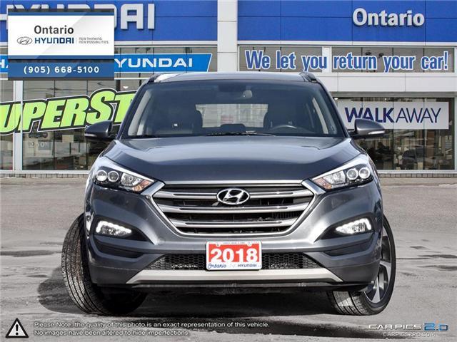 2017 Hyundai Tucson Limited 1.6 Turbo (Stk: 07147K) in Whitby - Image 2 of 27