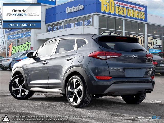 2017 Hyundai Tucson Limited 1.6 Turbo (Stk: 07147K) in Whitby - Image 4 of 27