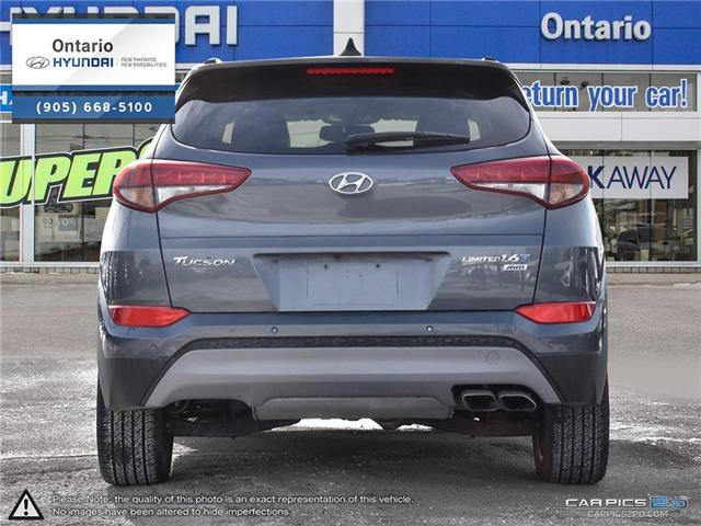 2017 Hyundai Tucson Limited 1.6 Turbo (Stk: 07147K) in Whitby - Image 5 of 27