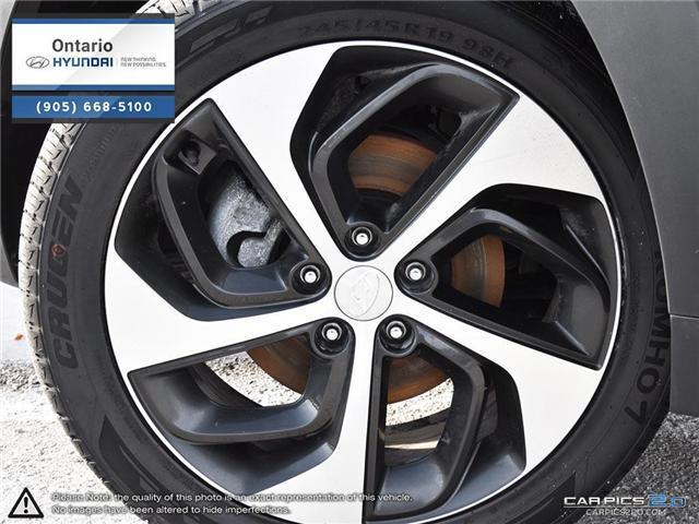 2017 Hyundai Tucson Limited 1.6 Turbo (Stk: 07147K) in Whitby - Image 6 of 27