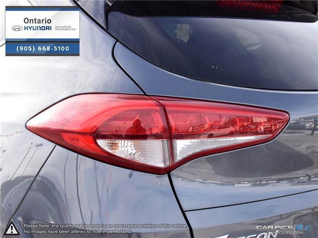 2017 Hyundai Tucson Limited 1.6 Turbo (Stk: 07147K) in Whitby - Image 12 of 27