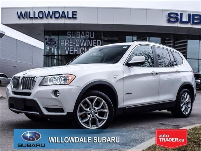 2014 BMW X3 xDrive28i | PUSHBUTTON START | PANO ROOF (Stk: 18D20A) in Toronto - Image 1 of 26