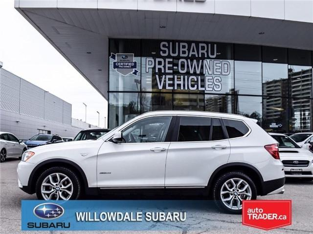 2014 BMW X3 xDrive28i | PUSHBUTTON START | PANO ROOF (Stk: 18D20A) in Toronto - Image 2 of 26