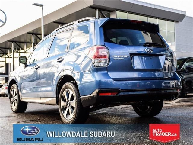 2018 Subaru Forester 2.5i Touring | SUNROOF | HEATED SEATS | BLUETOOTH (Stk: 18D46) in Toronto - Image 3 of 26