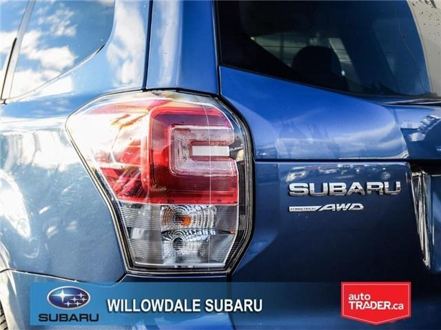 2018 Subaru Forester 2.5i Touring | SUNROOF | HEATED SEATS | BLUETOOTH (Stk: 18D46) in Toronto - Image 7 of 26