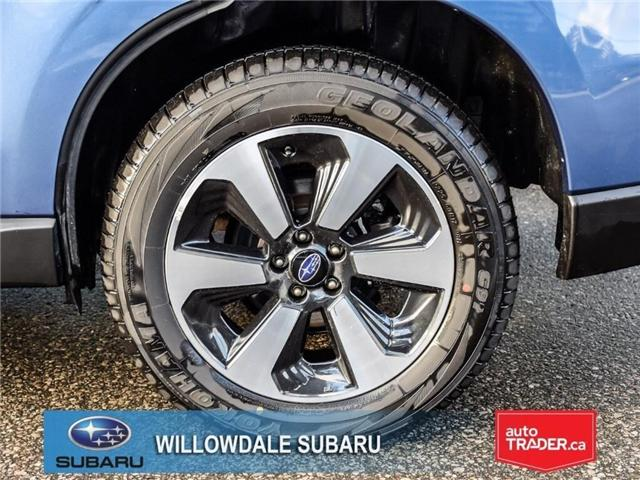 2018 Subaru Forester 2.5i Touring | SUNROOF | HEATED SEATS | BLUETOOTH (Stk: 18D46) in Toronto - Image 8 of 26