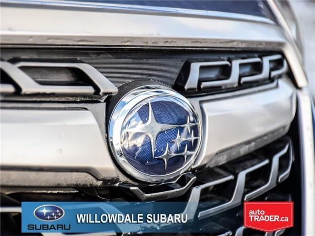 2018 Subaru Forester 2.5i Touring | SUNROOF | HEATED SEATS | BLUETOOTH (Stk: 18D46) in Toronto - Image 10 of 26