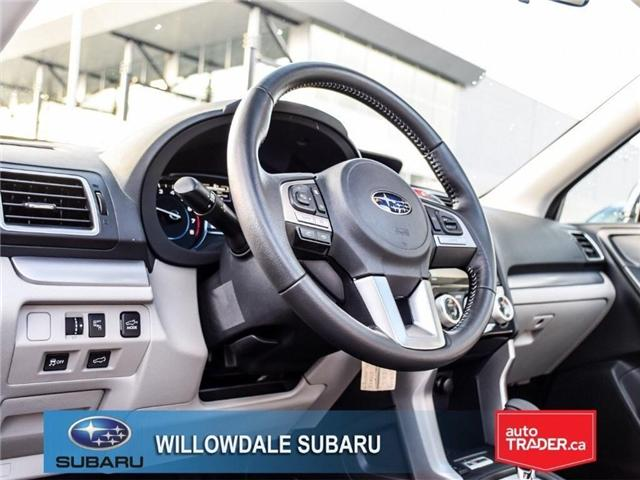 2018 Subaru Forester 2.5i Touring | SUNROOF | HEATED SEATS | BLUETOOTH (Stk: 18D46) in Toronto - Image 12 of 26