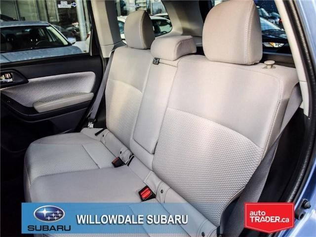 2018 Subaru Forester 2.5i Touring | SUNROOF | HEATED SEATS | BLUETOOTH (Stk: 18D46) in Toronto - Image 15 of 26