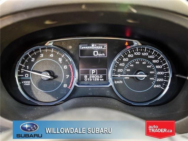 2018 Subaru Forester 2.5i Touring | SUNROOF | HEATED SEATS | BLUETOOTH (Stk: 18D46) in Toronto - Image 17 of 26