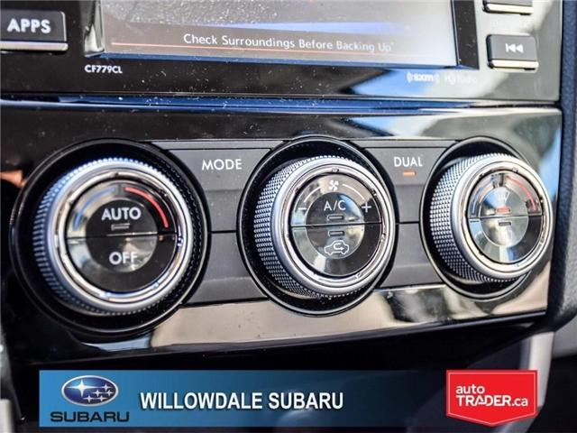 2018 Subaru Forester 2.5i Touring | SUNROOF | HEATED SEATS | BLUETOOTH (Stk: 18D46) in Toronto - Image 21 of 26