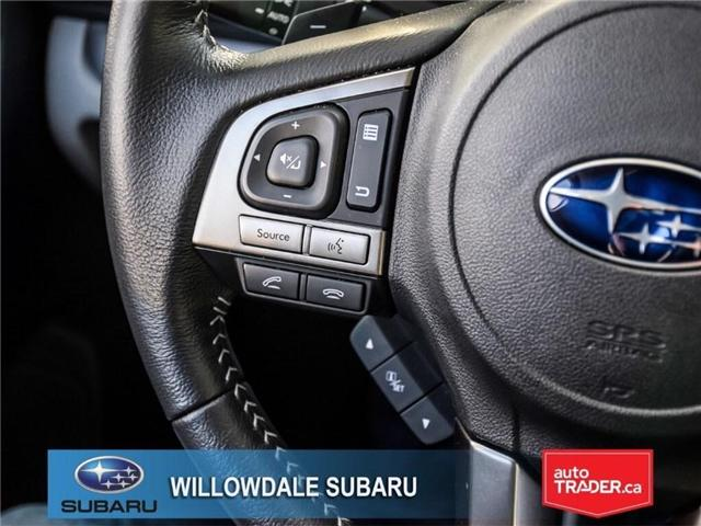 2018 Subaru Forester 2.5i Touring | SUNROOF | HEATED SEATS | BLUETOOTH (Stk: 18D46) in Toronto - Image 23 of 26