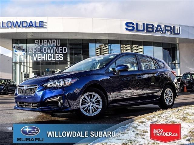 2018 Subaru Impreza Touring | AWD | RIMS | BLUETOOTH | HEATED SEATS (Stk: 18D40) in Toronto - Image 1 of 26