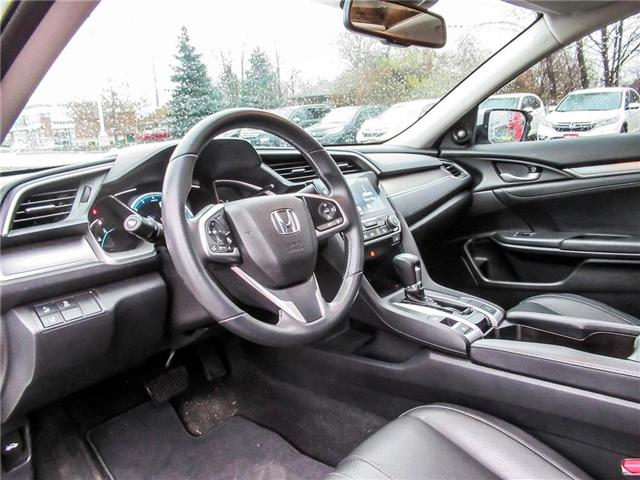 2017 Honda Civic Touring (Stk: 18616A) in Milton - Image 10 of 28