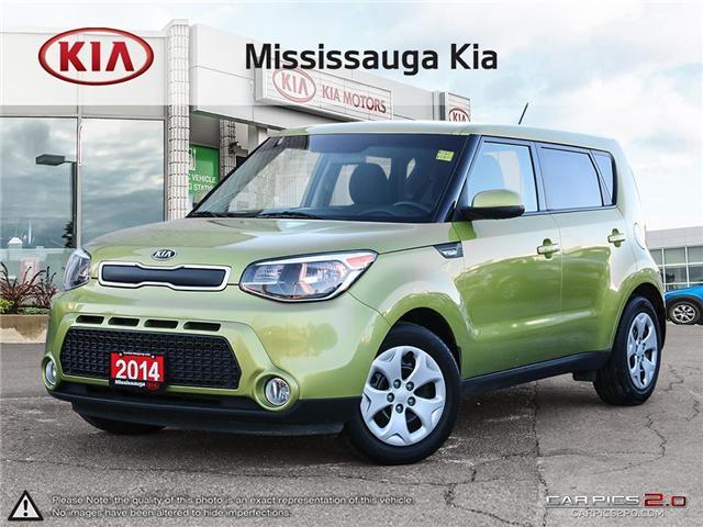 2014 Kia Soul LX (Stk: SL19038T) in Mississauga - Image 1 of 27