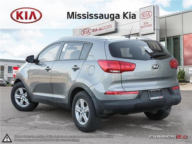 2016 Kia Sportage LX (Stk: 1277P) in Mississauga - Image 4 of 27