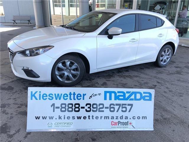 2015 Mazda Mazda3 GX (Stk: U3571) in Kitchener - Image 1 of 30
