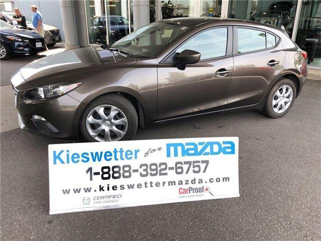 2015 Mazda Mazda3 GX (Stk: U3639) in Kitchener - Image 1 of 29