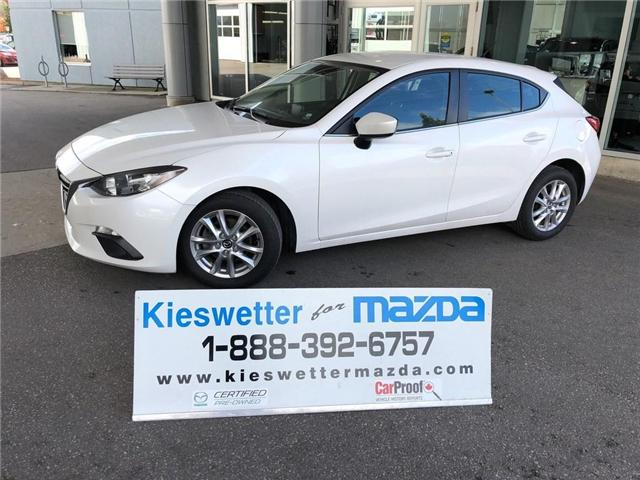 2015 Mazda Mazda3 GS (Stk: U3691) in Kitchener - Image 1 of 30