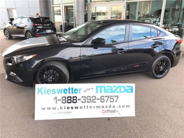 2015 Mazda Mazda3 GX (Stk: U3699) in Kitchener - Image 1 of 30