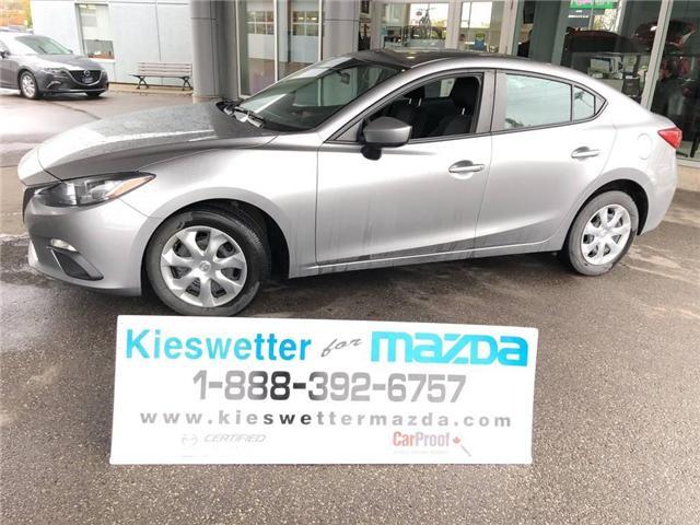2015 Mazda Mazda3 GX (Stk: U3715) in Kitchener - Image 1 of 24