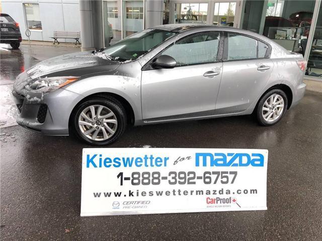 2013 Mazda Mazda3 GX (Stk: U3719) in Kitchener - Image 1 of 24