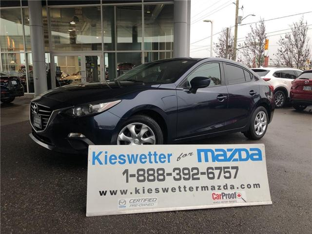 2016 Mazda Mazda3 GX (Stk: U3736) in Kitchener - Image 1 of 23