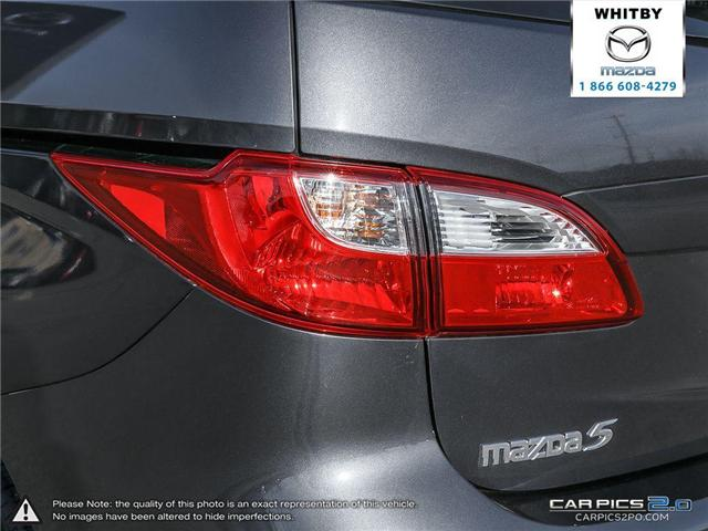 2017 Mazda 5 GS (Stk: 170600) in Whitby - Image 12 of 27