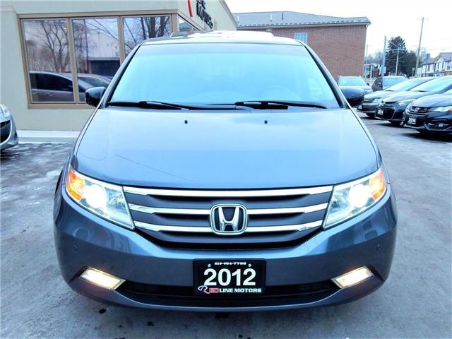 2012 Honda Odyssey Touring (Stk: 5FNRL5) in Kitchener - Image 2 of 25