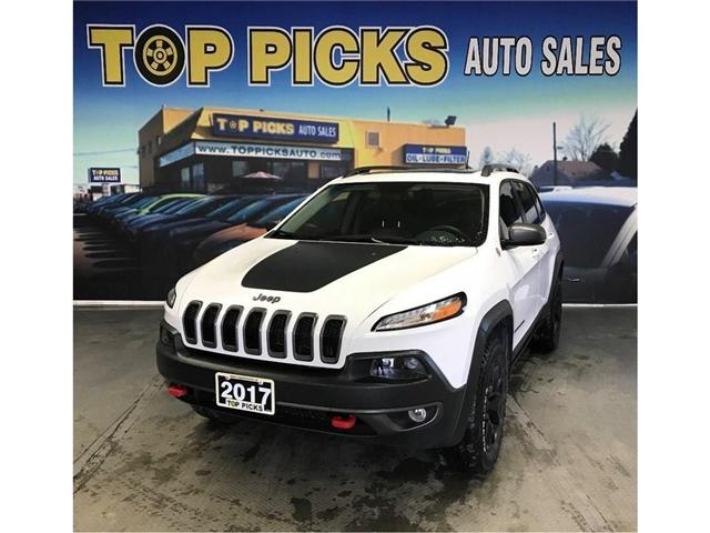 2017 Jeep Cherokee Trailhawk (Stk: 655021) in NORTH BAY - Image 1 of 30