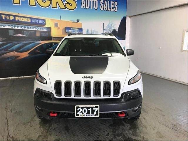 2017 Jeep Cherokee Trailhawk (Stk: 655021) in NORTH BAY - Image 2 of 30