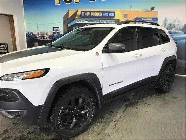 2017 Jeep Cherokee Trailhawk (Stk: 655021) in NORTH BAY - Image 3 of 30