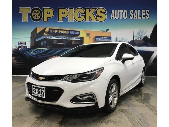 2017 Chevrolet Cruze LT Manual (Stk: 565360) in NORTH BAY - Image 1 of 30