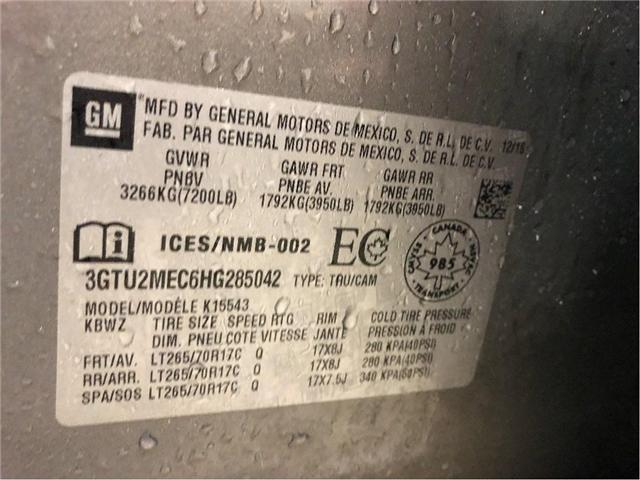 2017 GMC Sierra 1500 SLE (Stk: 285042) in NORTH BAY - Image 24 of 24
