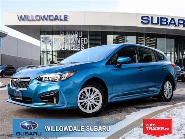 2018 Subaru Impreza Touring | AWD | RIMS | BLUETOOTH | HEATED SEATS (Stk: 18D45) in Toronto - Image 1 of 25
