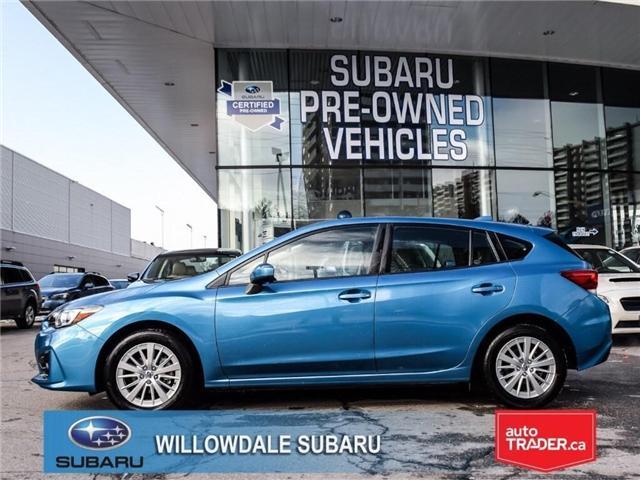 2018 Subaru Impreza Touring | AWD | RIMS | BLUETOOTH | HEATED SEATS (Stk: 18D45) in Toronto - Image 2 of 25